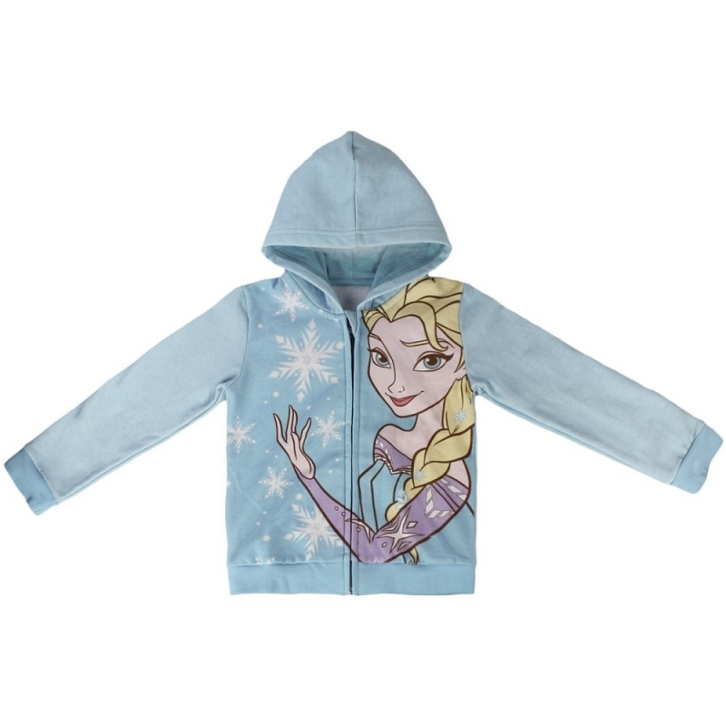 Frozen kinder sweater met capuchon