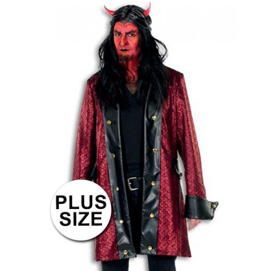 Grote maten Halloween kleding duivel