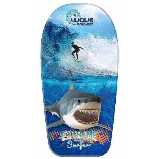 Haai-surfer speelgoed bodyboard 83 cm