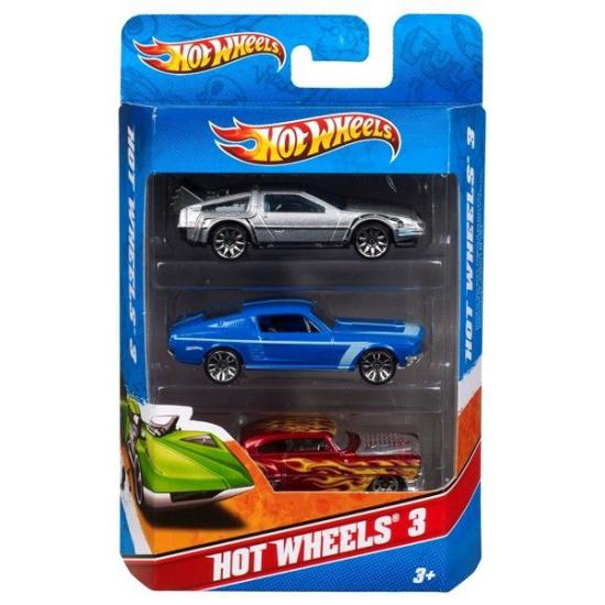 Hot Wheels race autos 3 stuks