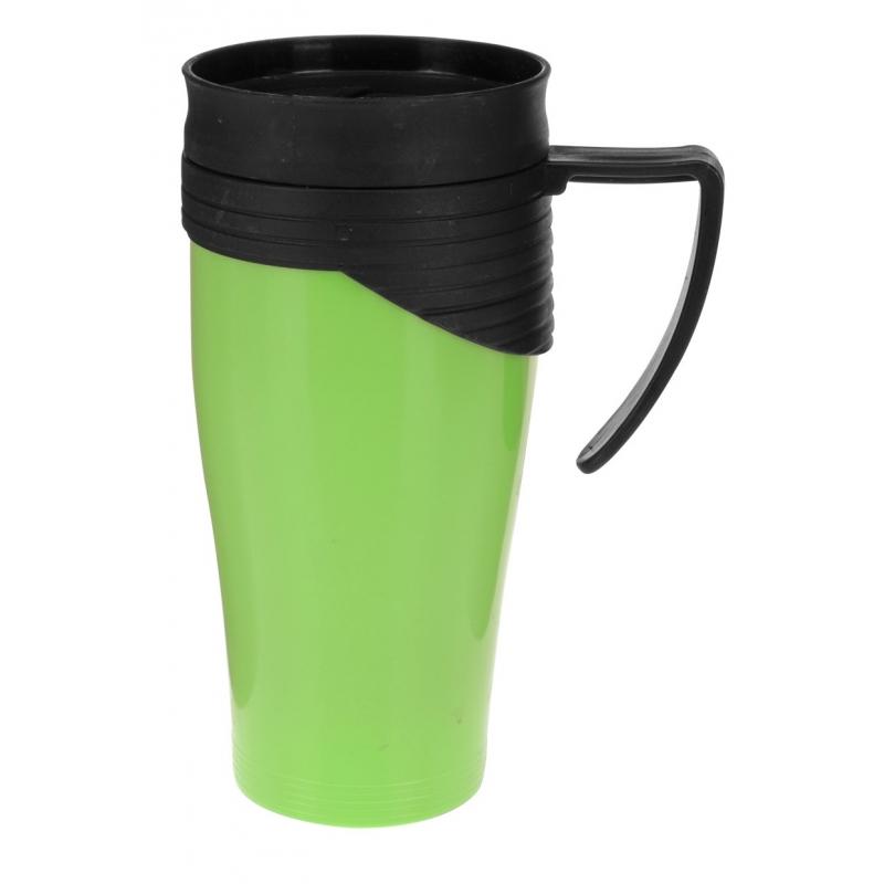 Isoleerbeker RVS groen 420 ml