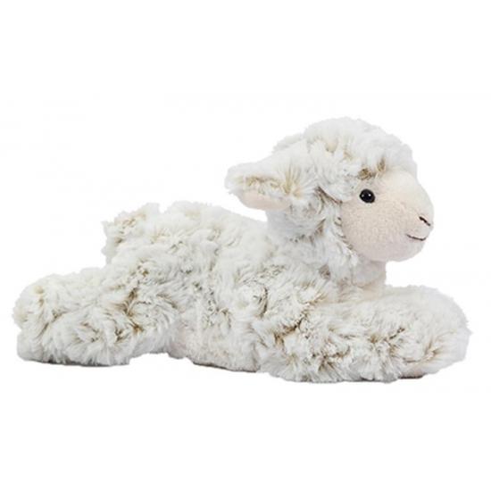 Knuffel schaap-lam liggend 22 cm