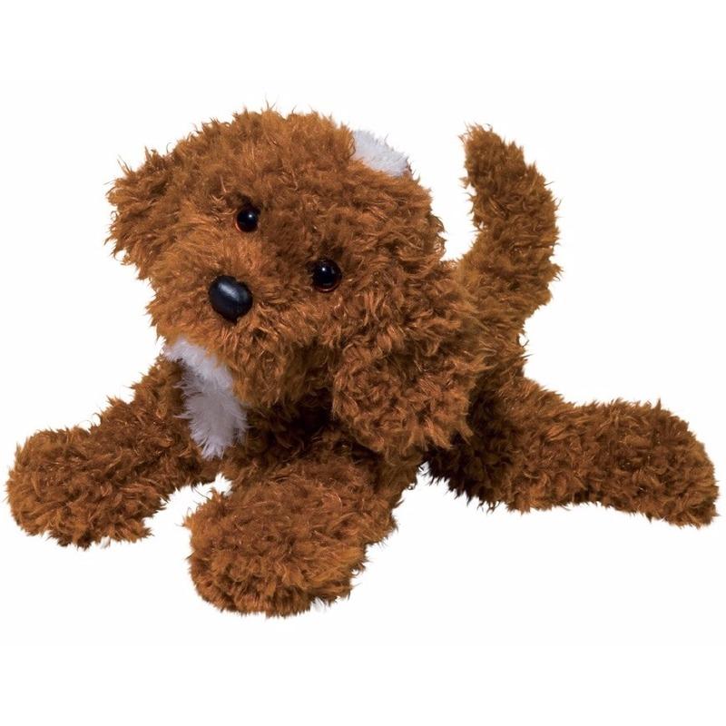 Knuffeldier labrapoedel-labradoodle hondje 41 cm