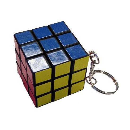 Kubus puzzels sleutelhangers