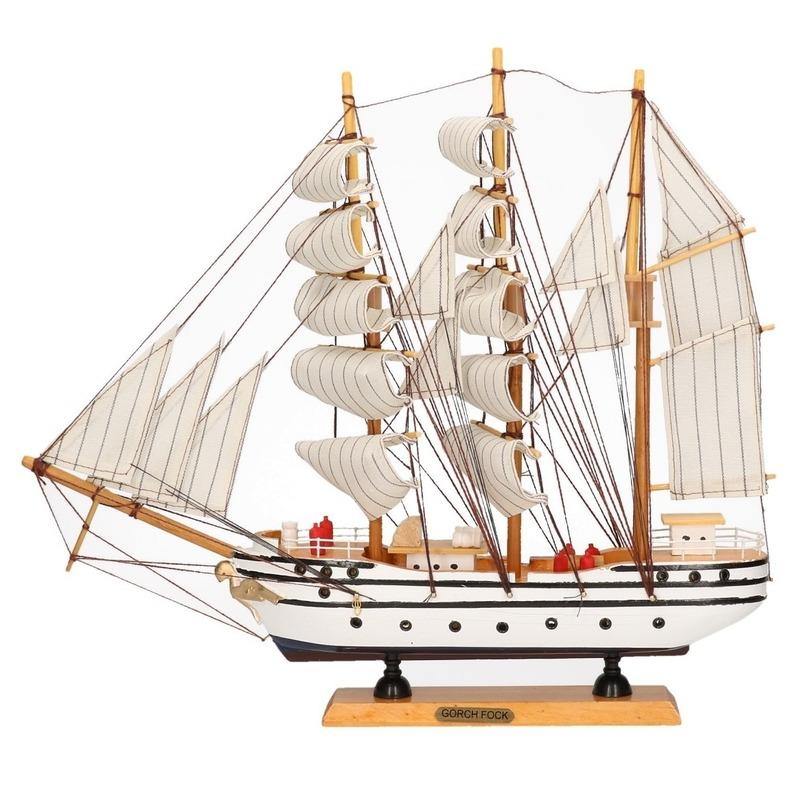 Miniatuur replica Gorch Fock