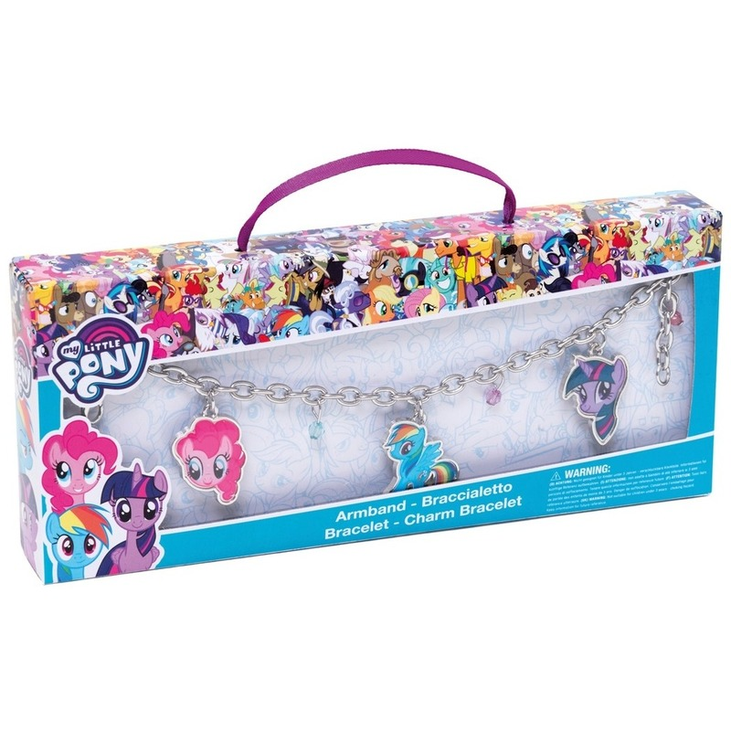 My Little Pony sieraden bedel armband Twilight Sparkle-Rainbow Dash-Pinkie Pie voor meisjes