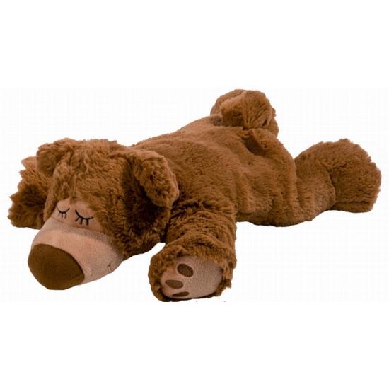 Opwarmbare knuffel beer