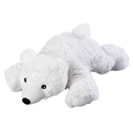 Opwarmbare knuffel ijsbeer