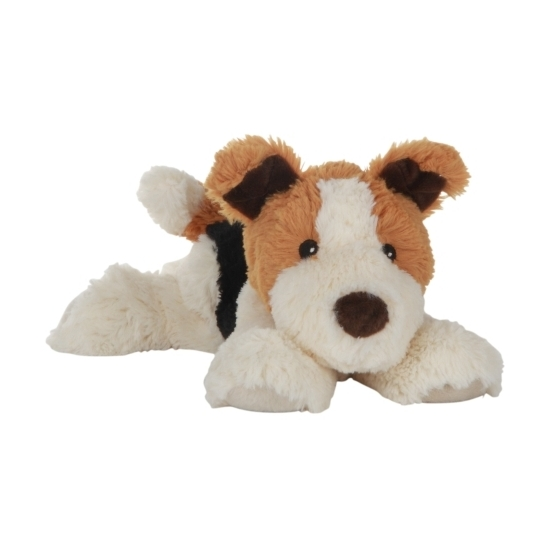 Opwarmbare knuffel puppy 18 cm