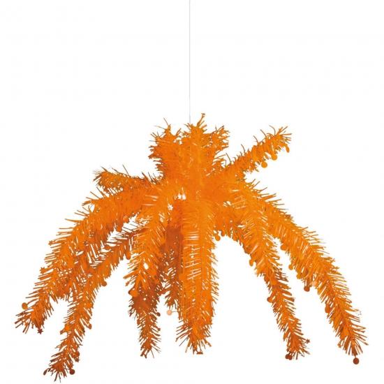 Oranje decoratie hangers