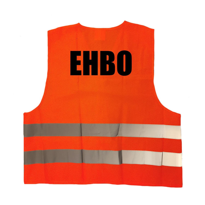 Oranje veiligheidsvest EHBO hesje hulpverlening voor volwassenen