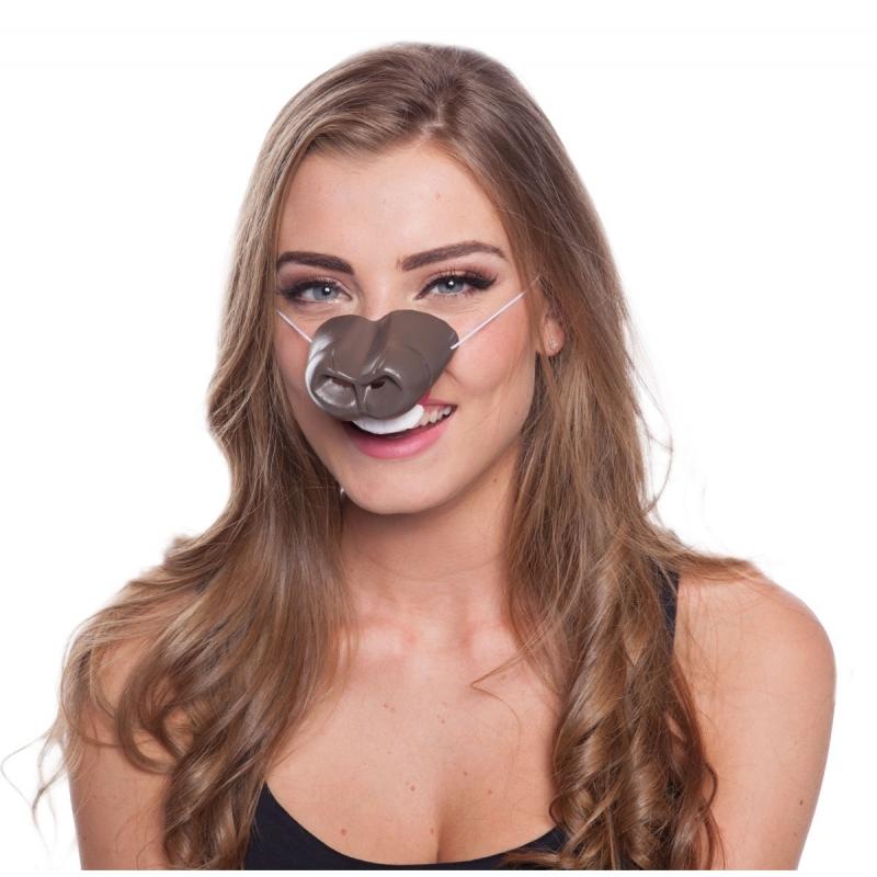 Paarden neus masker voor volwassenen