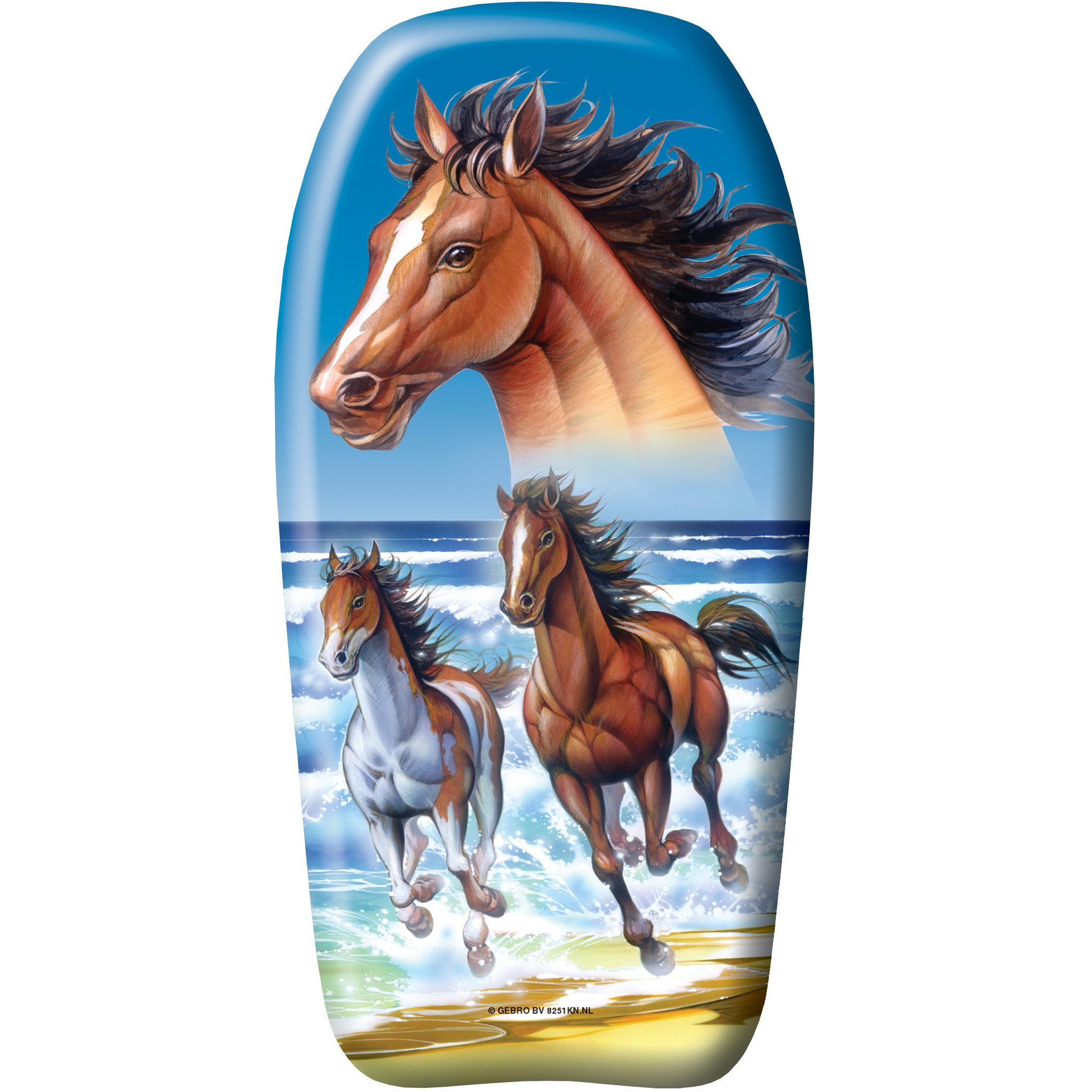 Paarden speelgoed zwem bodyboard 82 cm voor jongens-meisjes-kinderen