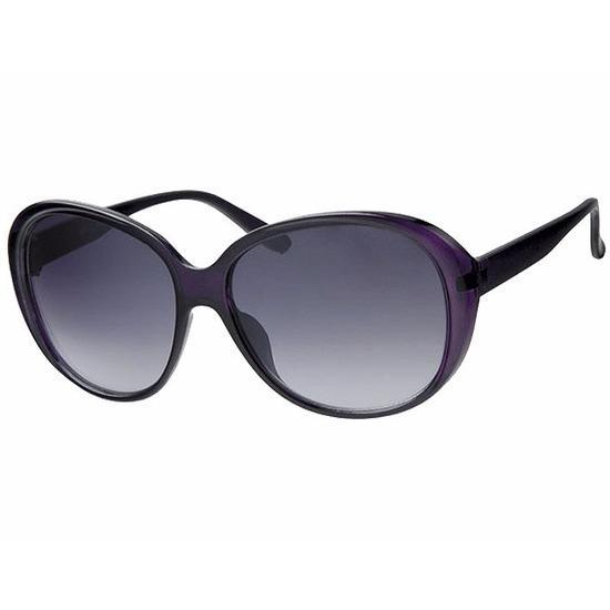 Paarse dames zonnebrillen met grote glazen