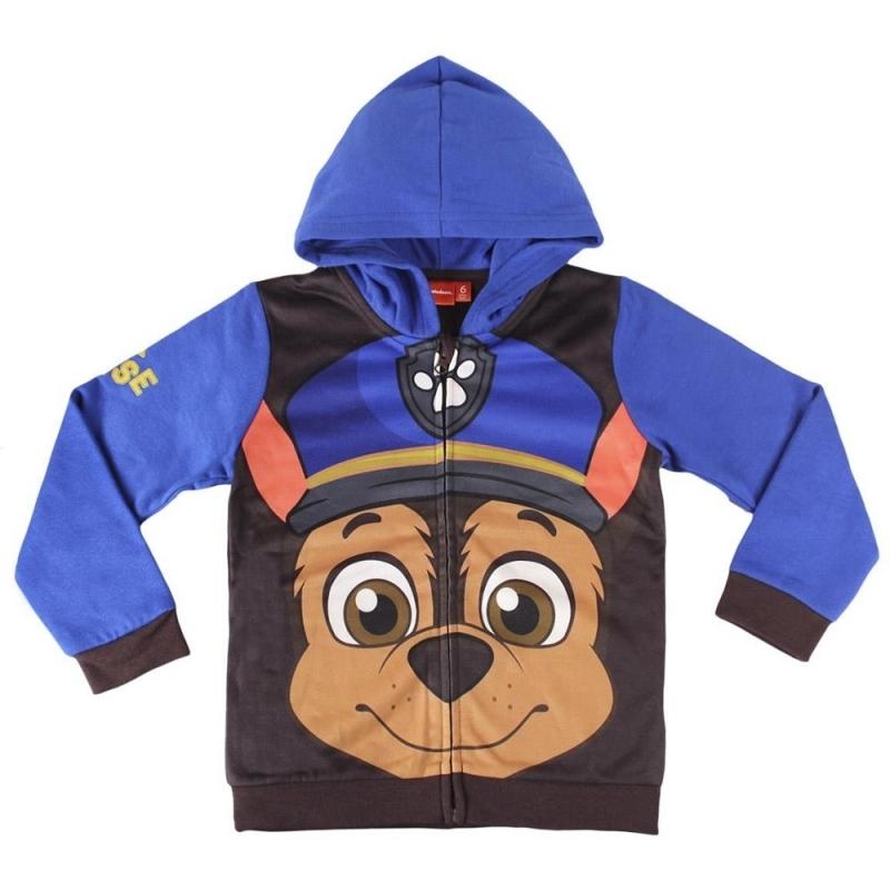 Paw Patrol Chase kinder sweater met capuchon