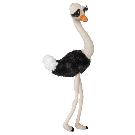 Pluche dierenknuffel struisvogel 65 cm
