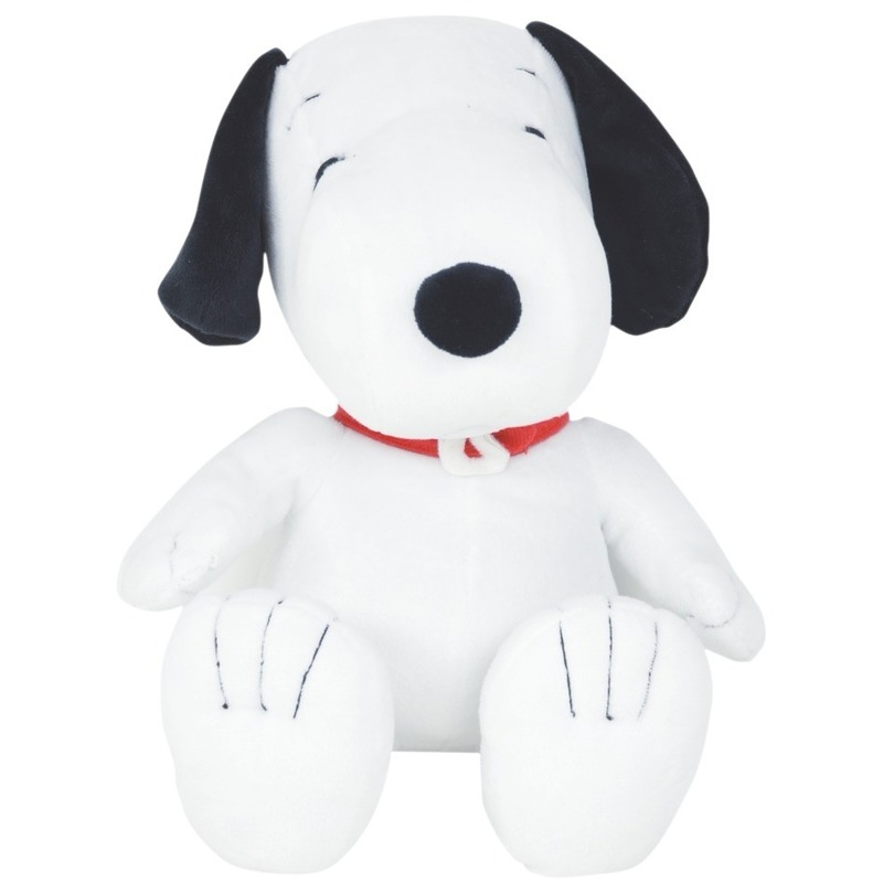 Pluche knuffel hondje Snoopy 25 cm