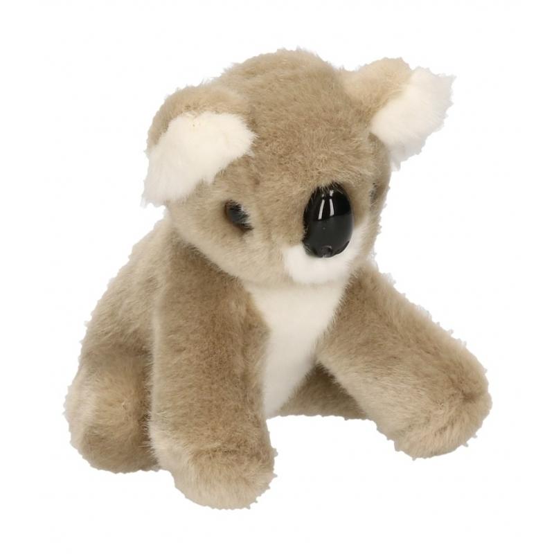 Pluche koala baby buideldiertje 13 cm