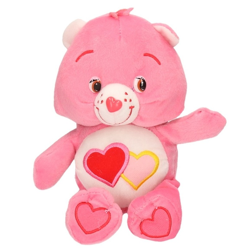 Pluche Troetelbeertjes knuffeltje roze 24 cm
