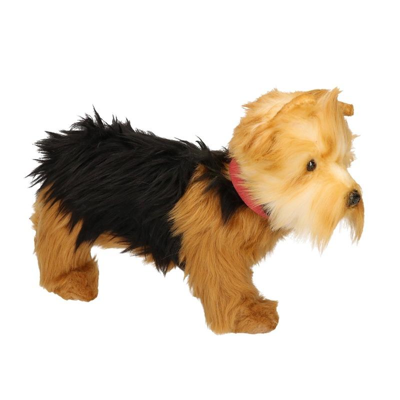 Pluche Yorkshire Terrier knuffeldier hondje 25 cm