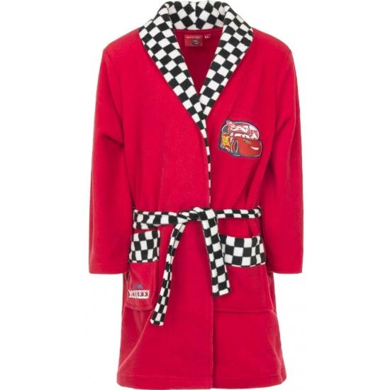 Rode Cars badjas voor jongens