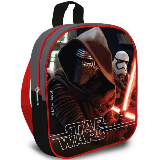 Rode Star Wars schooltas 24 cm