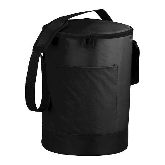 Ronde bucket koeltas zwart