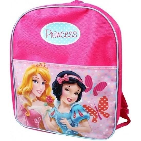 Roze Disney prinsessen sport rugzak voor meisjes/kinderen