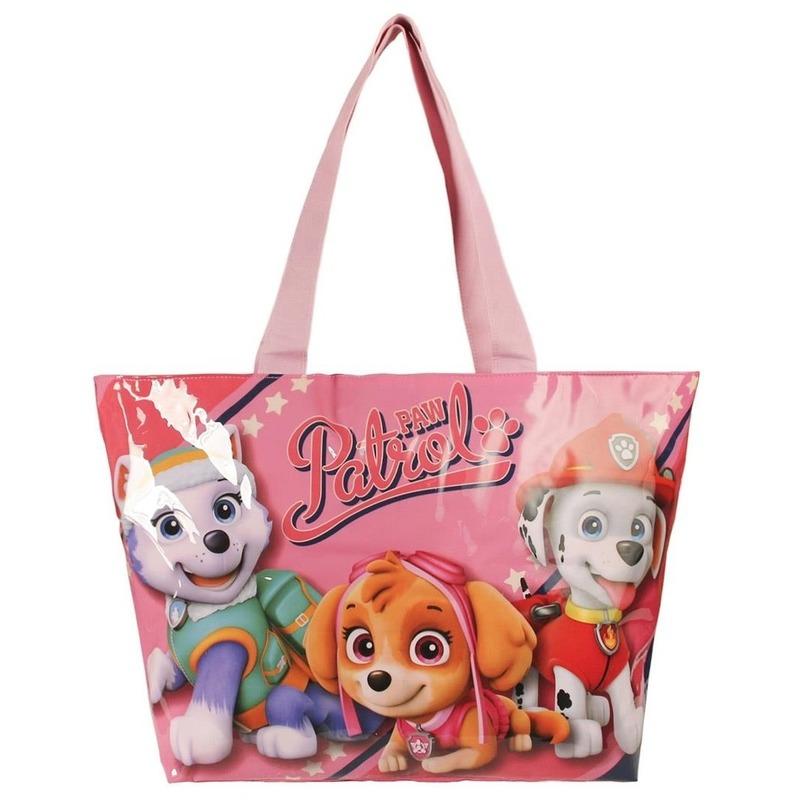 Roze Paw Patrol tas voor meisjes 48 cm