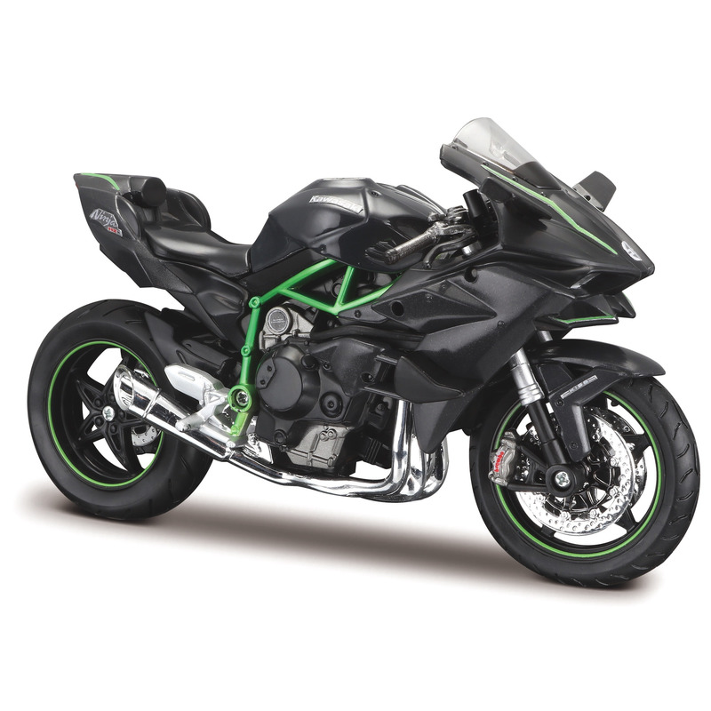 Schaalmodel Kawasaki H2 R NINJA motor 1:12