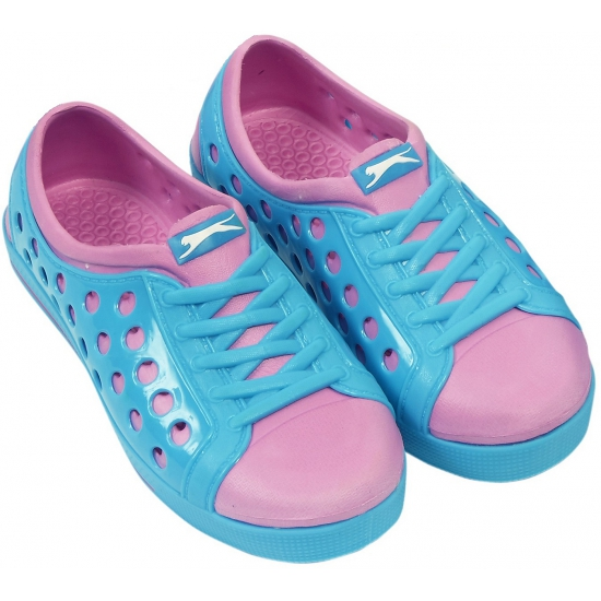 Slazenger trendy waterschoenen in blauw/roze