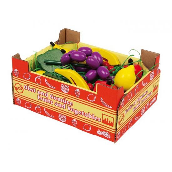 Speelgoed fruit kistje