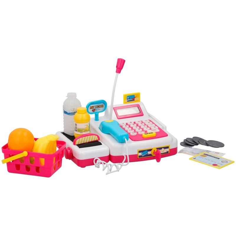 Speelgoed kassa met licht en geluid voor jongens-meisjes