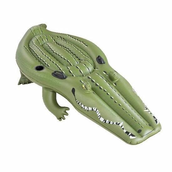 Speelgoed opblaas krokodil 259 x 104 cm