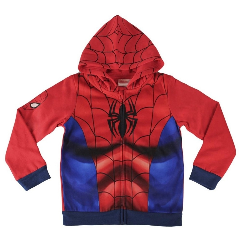 Spiderman kinder sweater met capuchon