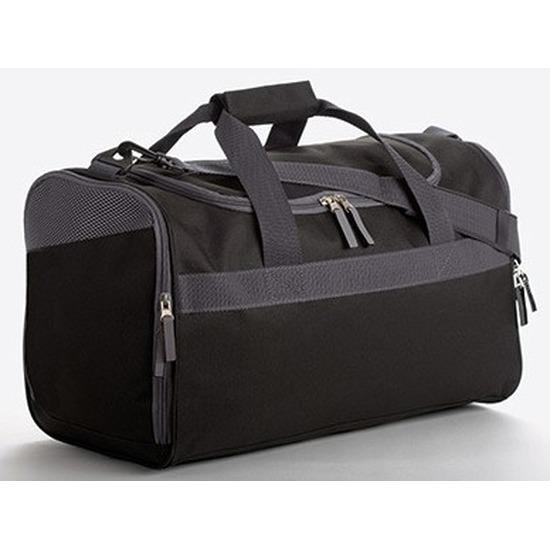 Sporttassen in zwart-grijze print 23 liter