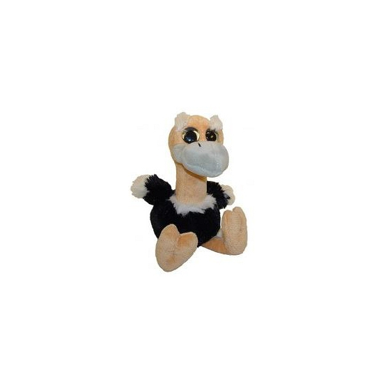 Struisvogel knuffel van 18 cm