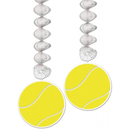 Tennis thema rotorspiraal 76 cm 2 stuks