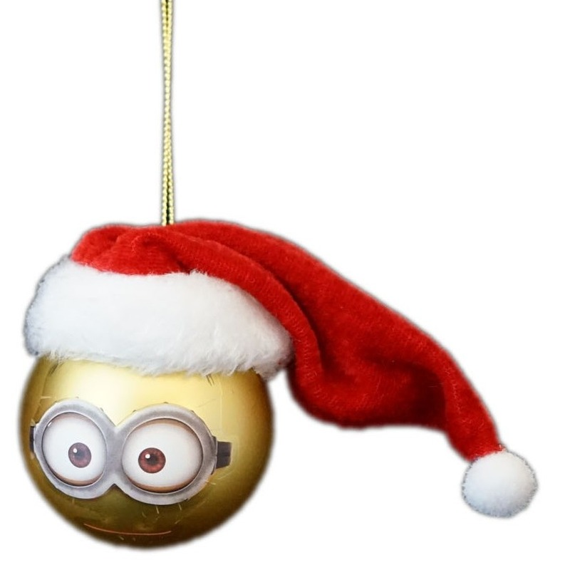 The Minions Kerstballen van kunststof Minion Dave 1x