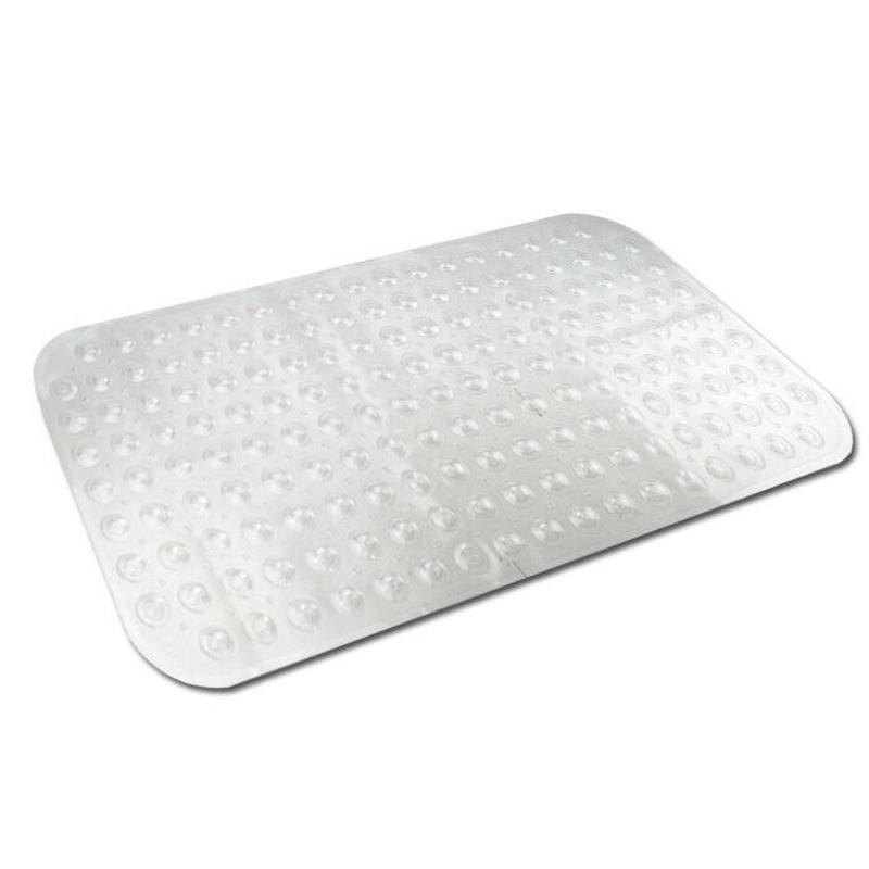 Transparante bad-douchemat anti-slip 79 x 37 cm