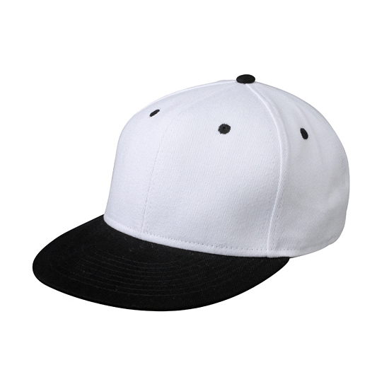 Urban hiphop snapback wit/zwart