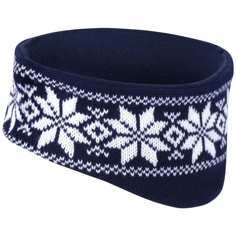 Warme haarband Nordic navy
