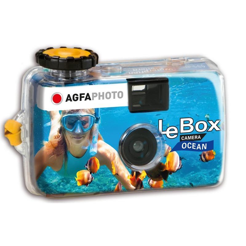 Wegwerp onderwatercamera-fototoestel met flits voor 27 kleuren fotos