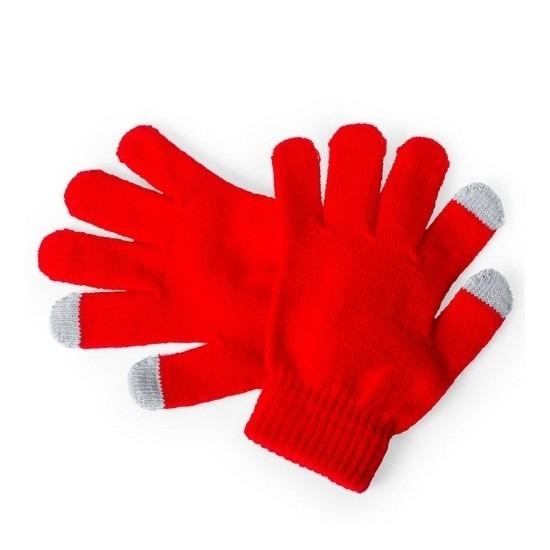 Winter handschoenen voor kinderen rood
