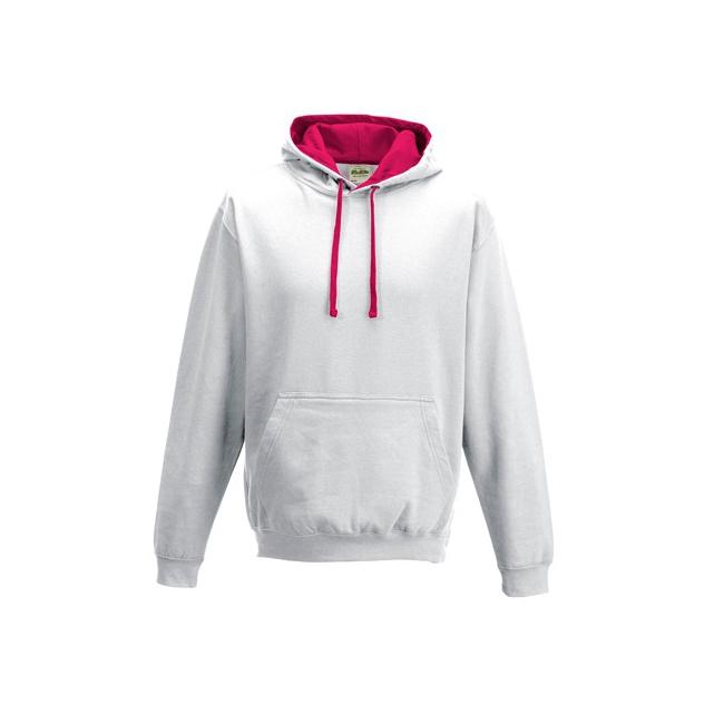 Wit met roze dames trui