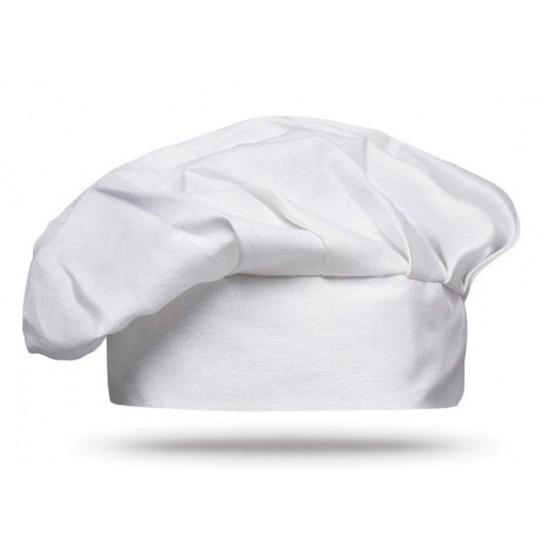 Witte BBQ chef muts voor volwassenen