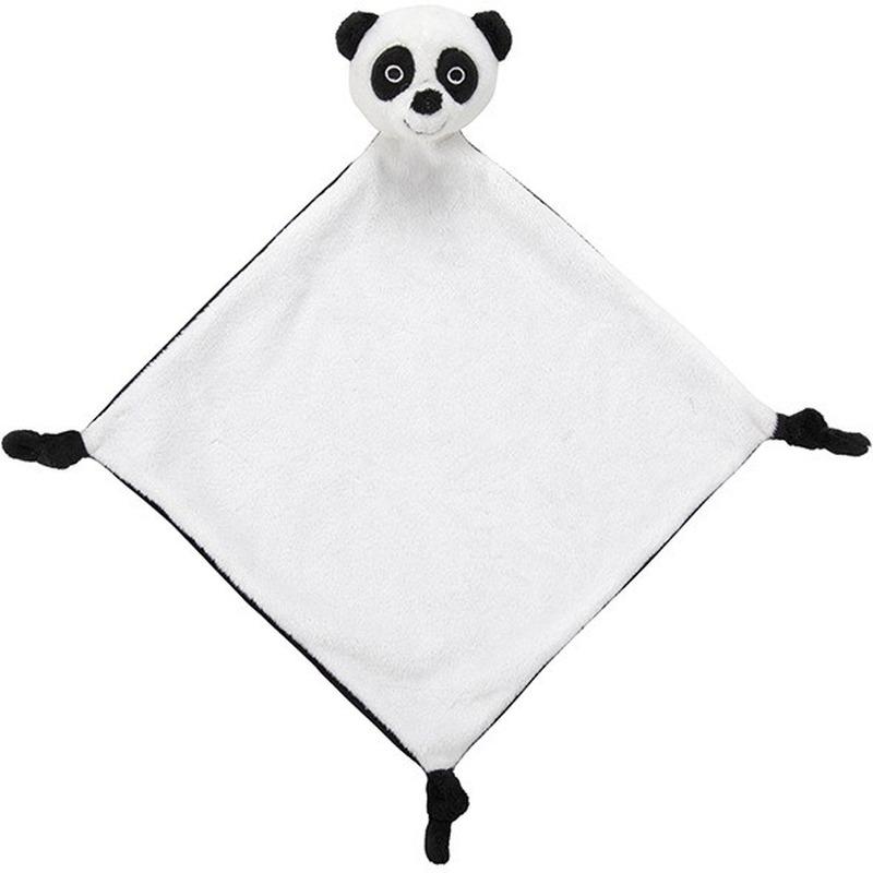 Witte pandas knuffeldoekjes knuffels 40 cm knuffeldieren