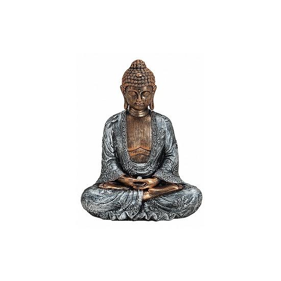 Woondecoratie Boeddha beeldje 23 cm