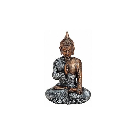 Woondecoratie Boeddha beeldje type 1 18 cm