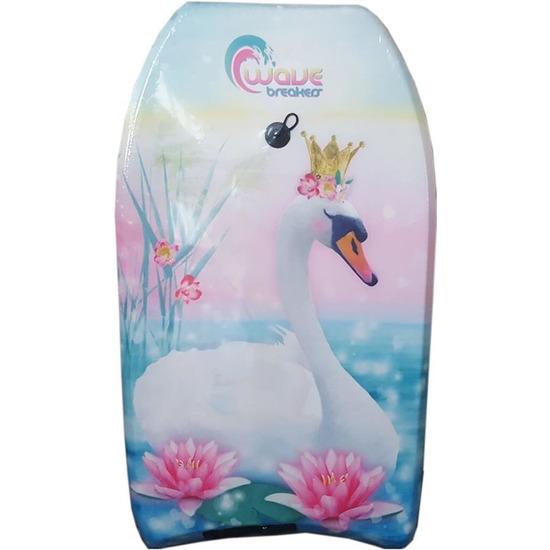 Zwanen speelgoed zwem bodyboard 83 cm voor jongens-meisjes-kinderen